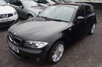 2008 BMW 1 SERIES 2.0 118D M SPORT 5d 141 BHP £4875.00