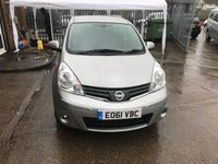 USED 2011 61 NISSAN NOTE 1.6 N-TEC 5d AUTO 110 BHP