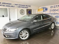 2015 VOLKSWAGEN CC 2.0 TDI BLUEMOTION TECHNOLOGY 4d 138 BHP £8195.00
