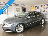 USED 2015 64 VOLKSWAGEN CC 2.0 TDI BLUEMOTION TECHNOLOGY 4d 138 BHP