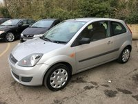 USED 2007 07 FORD FIESTA 1.2 STYLE 16V 3 DOOR, ONLY 68,000 MILES, DEALER PX TO CLEAR IDEAL FIRST CAR, ONLY 68,000 MILES, GREAT VALUE