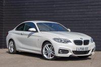 2016 BMW 2 SERIES 1.5 218I M SPORT 2d 134 BHP £15750.00