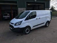 USED 2018 18 FORD TRANSIT CUSTOM 2.0 270 LR Swb 129 BHP