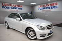 USED 2014 63 MERCEDES-BENZ C-CLASS 2.1 C220 CDI AMG SPORT EDITION 4d 168 BHP Park sensors, Bluetooth, Cruise control, Half Leather, Great MPG
