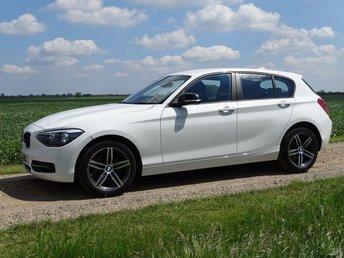 2015 BMW 1 SERIES 1.6 116I SPORT 5d 135 BHP £12495.00