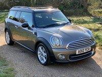 2012 MINI CLUBMAN 1.6 COOPER 5d 122 BHP £6590.00