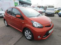 USED 2013 13 TOYOTA AYGO 1.0 VVT-I FIRE AC 5d 67 BHP ** 01543 454566 ** JUST ARRIVED **