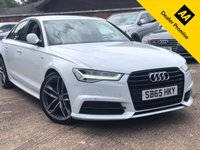 USED 2015 65 AUDI A6 2.0 TDI ULTRA BLACK EDITION 4d 188 BHP Cambelt and water pump just changed.