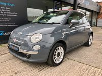 USED 2010 60 FIAT 500 1.2 C LOUNGE 3d 69 BHP Convertible, Full leather