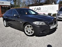 USED 2012 62 BMW 5 SERIES 2.0 520D M SPORT 4d AUTO 181 BHP 1 PREVIOUS OWNER + FULL BMW SERVICE HISTORY
