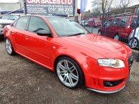 2007 AUDI A4 4.2 RS4 QUATTRO 4d 420 BHP £16995.00