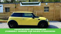 USED 2010 60 MINI HATCH ONE 1.6 ONE 3d 98 BHP Here is a lovely little mini one with upgraded 18 inch, 16 spoke black alloy wheels, in a bright yellow with contrasting black trim. Come's with auto climate control, bluetooth, leather steering wheel and gear knob, piano black interior trim and front fog lights. This car really does pop. Loads of receipts and service invoices. Would be a great first car, very stylish.