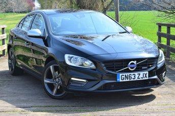 2013 VOLVO S60 1.6 D2 R-DESIGN NAV 4d AUTO 113 BHP £7750.00