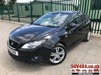 USED 2011 11 SEAT IBIZA 1.4 CHILL 5d 85 BHP AIR CON ALLOYS FSH STUNNING BLACK MET WITH GREY CLOTH TRIM. CRUISE CONTROL. 16 INCH ALLOYS. COLOUR CODED TRIMS. CLIMATE CONTROL WITH AIR CON. R/CD PLAYER. MFSW. MOT 03/20. FULL SERVICE HISTORY. P/X CLEARANCE CENTRE LS23 7FQ TEL 01937 849492 OPTION 4