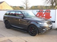 USED 2016 16 LAND ROVER RANGE ROVER SPORT 4.4 SDV8 AUTOBIOGRAPHY DYNAMIC 5d AUTO 339 BHP ONLY 18000 MILES,LAND ROVER WARRANTY SERVICE PACK