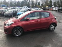 USED 2013 63 TOYOTA YARIS 1.3 VVT-I ICON PLUS 5d AUTO 99 BHP IN METALLIC RED WITH A FULL SERVICE HISTORY APPROVED CARS AND FINANCE ARE PLEASED TO OFFER THIS TOYOTA YARIS 1.3 VVT-I ICON PLUS 5 DOOR AUTOMATIC 99 BHP IN METALLIC RED WITH ONLY 21000 MILES WITH A FULL SERVICE HISTORY,THIS VEHICLE HAS A MASSIVE SPEC SUCH AS  BLUETOOTH,CLIMATE CONTROL,CRUISE CONTROL AND REAR REVERSE CAMERA AND MUCH MORE WITH A FULL SERVICE HISTORY AND A FULL STAMPED SERVICE BOOK.THIS IS A VERY POPULAR VEHICLE BEING AUTOMATIC LAND LOW MILEAGE IN A BEAUTIFUL COLOR NOT A VEHICLE TO BE MISSED.FOR FURTHER DETAILS PLEASE CALL 0
