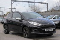 USED 2016 16 FORD FIESTA 1.0 ZETEC BLACK EDITION AUTUMN 3d 99 BHP STUNNING SCHWARTZ BLACK WITH CHARCOAL BLACK CLOTH UPHOLSTERY. ONLY ONE OWNER FROM NEW. VERY LOW MILEAGE. BLACK EDITION. SATELLITE NAVIGATION. WHITE ROOF. BLACK/WHITE ALLOY WHEELS. AIR CONDITIONING. ELECTRIC WINDOWS. REMOTE CENTRAL LOCKING. BLUETOOTH. PLEASE GOTO www.lowcostmotorcompany.co.uk TO VIEW OVER 120 CARS IN STOCK, SOME OF THE CHEAPEST ONLINE.