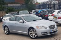 2010 JAGUAR XF 3.0 V6 LUXURY 4d AUTO 240 BHP £7888.00