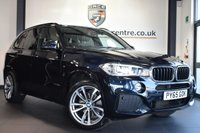 "USED 2016 65 BMW X5 3.0 XDRIVE30D M SPORT 7 SEATS 5DR AUTO 255 BHP full bmw service history *NO ADMIN FEES* FINIHSED IN STUNNING CARBON BLACK WITH FULL LEATHER INTERIOR + FULL BMW SERVICE HISTORY + PRO SATELLITE NAVIGATION + BLUETOOTH + XENON LIGHTS + HEATED SEATS WITH MEMORY + 7 SEATER + CRUISE CONTROL + DAB RADIO + AUTO AIR CON + LED FOG LIGHTS + PARKING SENSORS + 20"" ALLOY WHEELS"