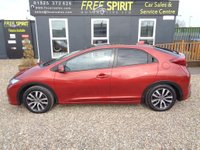 USED 2014 14 HONDA CIVIC 1.6 i-DTEC SR 5dr Nav, Leather, Pan roof