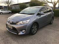 2014 TOYOTA VERSO 1.6 VALVEMATIC ICON 5d 131 BHP £SOLD