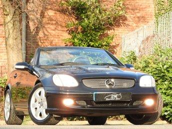 2001 MERCEDES-BENZ SLK 3.2 SLK320 2d 218 BHP £6995.00
