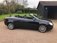 USED 2008 08 VOLKSWAGEN EOS 2.0 SPORT TDI 2d 138 BHP Excellent condition with full leather heated front seats.