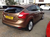 USED 2013 13 FORD FOCUS 1.0 ZETEC 5d 124 BHP FULL SERVICE HISTORY
