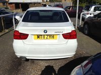 USED 2011 11 BMW 3 SERIES 2.0 320D EFFICIENTDYNAMICS 4d 161 BHP ONE COMPANY OWNER + SERVICE HISTORY + LOVELY IN WHITE !!