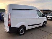 USED 2015 15 FORD TRANSIT CUSTOM 2.2 290 L1 H2 SWB HIGH ROOF 100 BHP