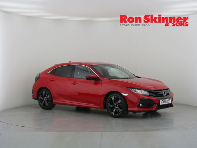 View our 2017 17 HONDA CIVIC 1.0 VTEC SR 5d 128 BHP