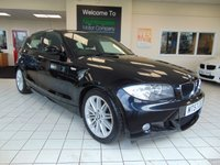 USED 2007 57 BMW 1 SERIES 1.6 116I M SPORT 5d 121 BHP LOW MILEAGE + ALLOYS + AIR CONDITIONING + REMOTE CENTRAL LOCKING + CD RADIO + NOVEMBER MOT + ELECTRIC WINDOWS + FRONT FOG LIGHTS
