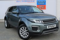 USED 2016 16 LAND ROVER RANGE ROVER EVOQUE 2.0 ED4 SE 5d Family SUV Rare Manual with Very Low Mileage and Great High Spec inc Heated Black Leather Seats Sat Nav Bluetooth Mobile Handsfree Parking Sensors and much more FULL SERVICE HISTORY + LOW MILEAGE!