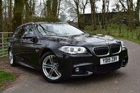 2015 BMW 5 SERIES 2.0 520D M SPORT TOURING 5d 188 BHP £17750.00