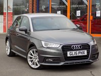 USED 2015 15 AUDI A1 1.6 TDI S Line 5dr Sportback *Cruise + Floret Silver Roof*