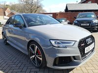 USED 2017 67 AUDI RS3 2.5 RS 3 QUATTRO 4d AUTO 395 BHP FASH+LITCHFIELD CONVERSION+NAV