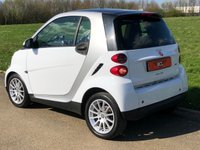 USED 2008 58 SMART FORTWO 1.0 PASSION MHD AUTO 71 BHP 2DR ( SILVER/ WHITE) ECO MODE* PANORAMIC ROOF*