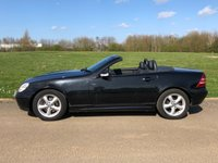 USED 2002 52 MERCEDES-BENZ SLK SLK320 3.2 V6 218 BHP 2DR CONVERTIBLE FSH+ GENUINE 58k+ AC
