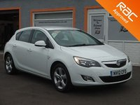 "USED 2012 12 VAUXHALL ASTRA 2.0 SRI CDTI S/S 5d 163 BHP 17"" Alloys, Bluetooth Technology, Parking sensors, Cruise Control"