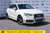 USED 2012 12 AUDI A1 1.4 TFSI BLACK EDITION 3d 185 BHP DSG, FSH, SAT NAV, BLUETOOTH