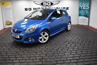 USED 2011 11 VAUXHALL CORSA 1.6 i Turbo 16v VXR 3dr ARDEN BLUE, LOW MILES, FSH