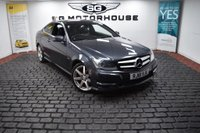 USED 2011 61 MERCEDES-BENZ C-CLASS 2.1 C220 CDI BlueEFFICIENCY AMG Sport Edition 125 7G-Tronic 2dr 2 Owners, AMG Sport, SAT NAV