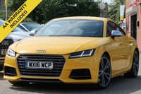 USED 2016 16 AUDI TT 2.0 TTS TFSI QUATTRO 2d AUTO 306 BHP FULL SERVICE HISTORY NATIONWIDE DELIVERY AVAILABLE
