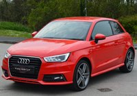 USED 2016 16 AUDI A1 1.4 TFSI S LINE 3d 125 BHP * SAT NAV * PCP FINANCE AVAILABLE.