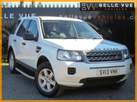USED 2013 13 LAND ROVER FREELANDER 2.2 SD4 GS 5d AUTO 190 BHP *DAB RADIO, HEATED LEATHER, PARKING SENSORS*