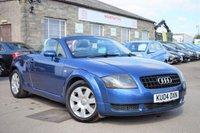 2004 AUDI TT 1.8 ROADSTER 2d 150 BHP £3775.00