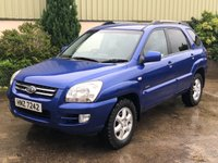 USED 2005 KIA SPORTAGE 2.0 XS CRDI 5d 111 BHP Leather, Park sensors OFF ROAD TYRES, LEATHER, MOT TO APRIL 2020