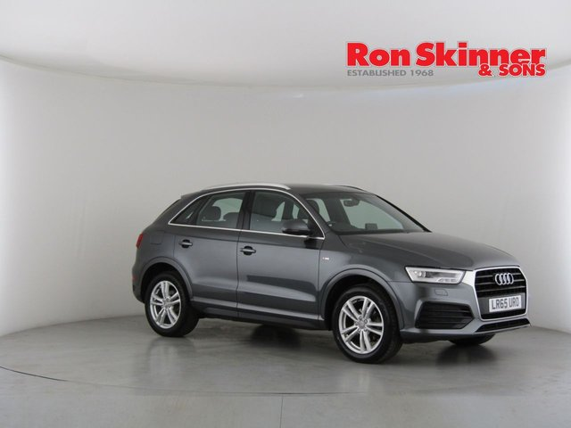 View our 2015 65 AUDI Q3 2.0 TDI S LINE 5d 148 BHP