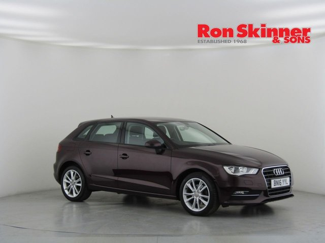 View our 2016 16 AUDI A3 2.0 TDI SE TECHNIK 5d 148 BHP