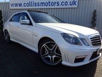 2012 MERCEDES-BENZ E-CLASS 5.5 E63 AMG 4d AUTO 518 BHP £23995.00
